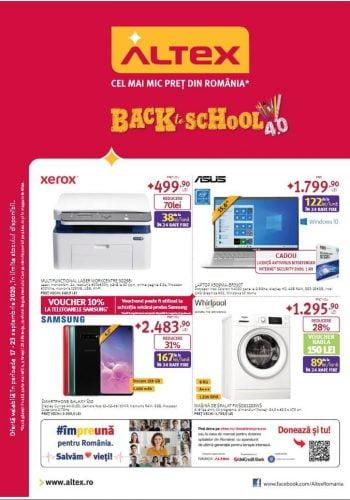 Catalog Altex 17 septembrie - 23 septembrie Back to School 4.0