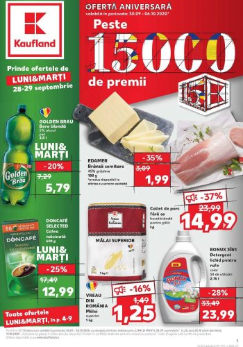 Catalog Kaufland 30 septembrie - 6 octombrie 2020