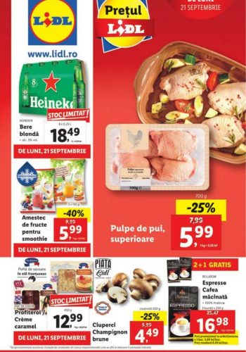 Catalog Lidl 21 septembrie - 27 septembrie 2020