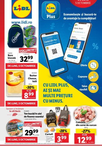 Catalog Lidl 5 octombrie - 11 octombrie 2020