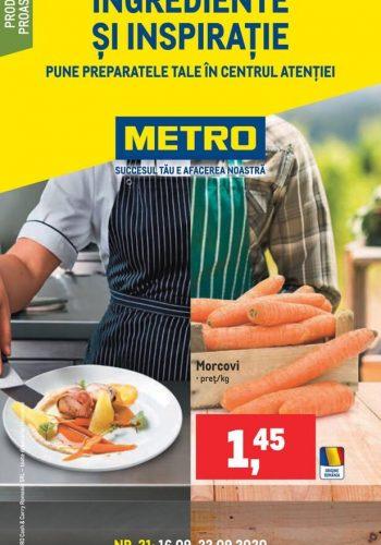 Catalog Metro - Catalog cu ingrediente si inspiratie 16 septembrie - 22 septembrie 2020