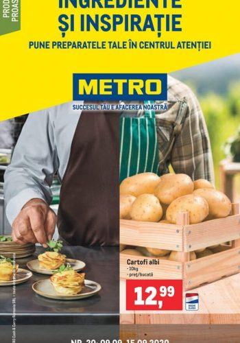 Catalog Metro - Catalog cu ingrediente si inspiratie 9 septembrie - 15 septembrie 2020