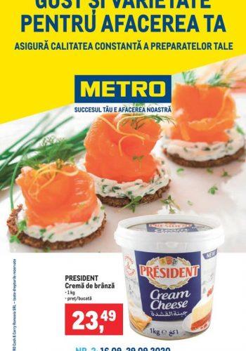 Catalog Metro - GUST SI VARIETATE - pentru afacerea ta 16 septembrie - 29 septembrie 2020