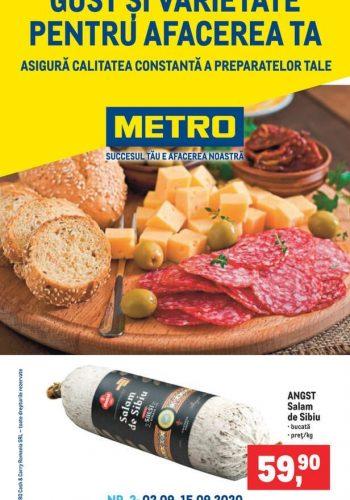 Catalog Metro - GUST SI VARIETATE - pentru afacerea ta 2 septembrie - 15 septembrie 2020