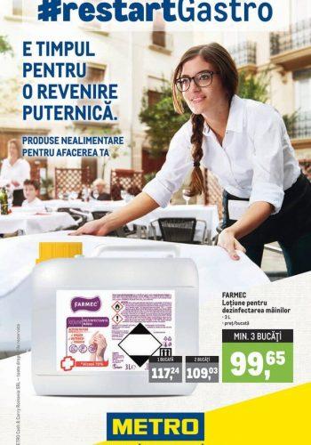 Catalog Metro - #RestartGastro - Produse nealimentare pentru afacerea ta 4 septembrie - 30 septembrie 2020