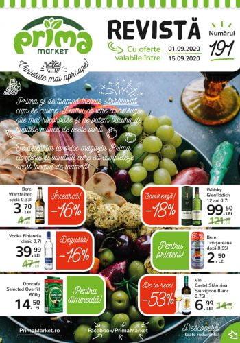 Catalog Prima Market 1 septembrie - 15 septembrie Revista nr. 191
