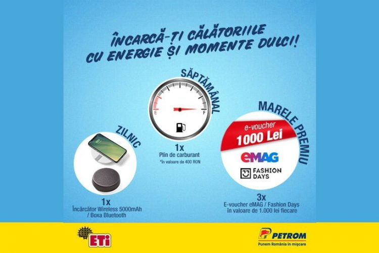 Petrom - Produsele ETi iti aduc ENERGIA de toamna - Incarca-ti calatoriile cu energie si momente dulci!