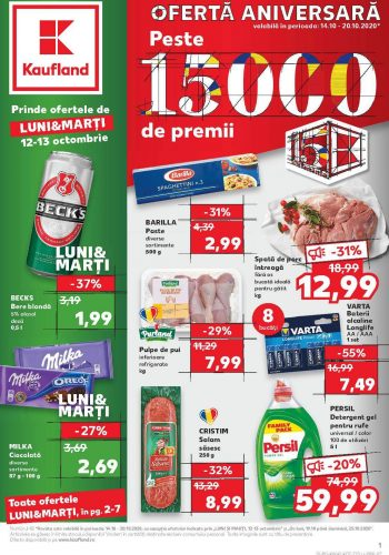 Catalog Kaufland 14 octombrie - 20 octombrie 2020