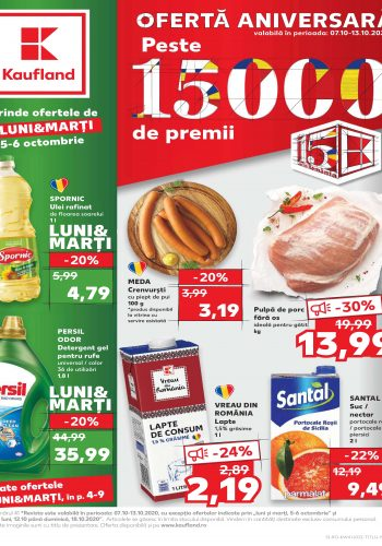 Catalog Kaufland 7 octombrie - 13 octombrie 2020