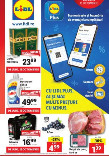 Catalog Lidl 12 octombrie - 18 octombrie 2020