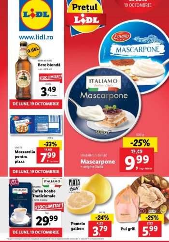 Catalog Lidl 19 octombrie - 25 octombrie 2020