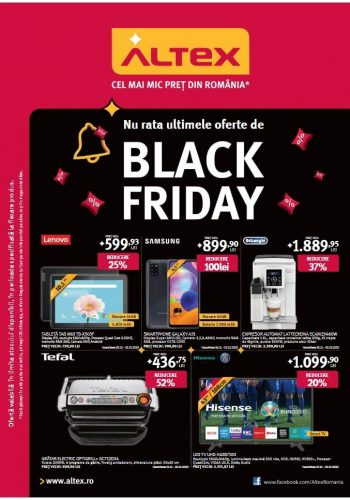 Catalog Altex 26 noiembrie - 2 decembrie Black Friday 2020
