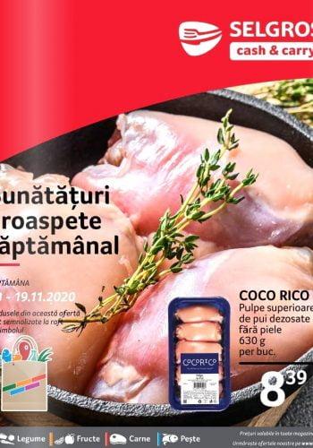 Catalog Selgros 13 noiembrie - 19 noiembrie - Bunataturi proaspete saptamanal nr. 47 (promovare exclusiv online)