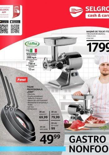 Catalog Selgros 6 noiembrie - 31 decembrie - Gastro Non-Food nr. 46-53