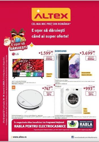 Catalog Altex 24 decembrie - 30 decembrie E usor să daruiesti cand ai super oferte!