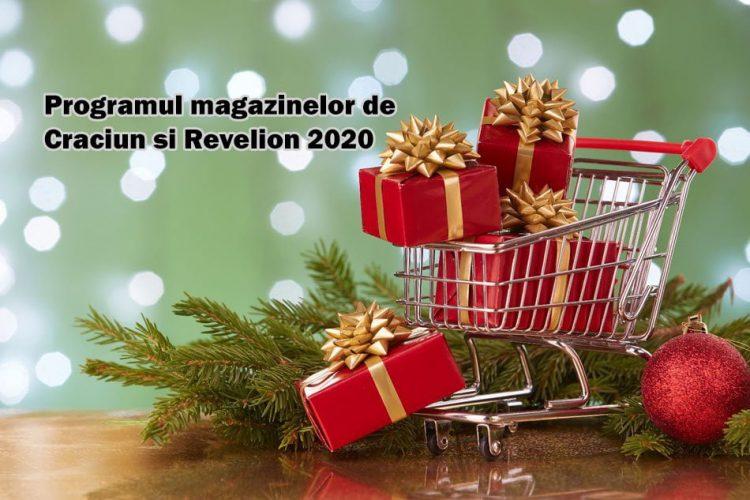 Programul magazinelor de Craciun si Revelion 2020 - orar supermarketuri de Sarbatori 2020