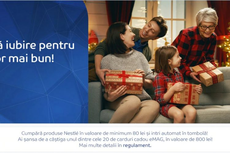 eMAG - Adauga iubire pentru un viitor mai bun - Castiga un card cadou eMAG!