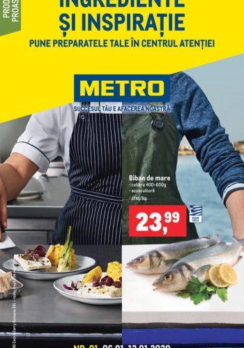 Catalog Metro - Catalog cu ingrediente si inspiratie 6 ianuarie - 12 ianuarie 2021