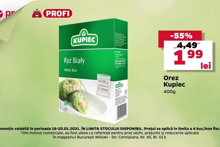 Profi - Orez Kupiec - 18 ianuarie - 20 ianuarie