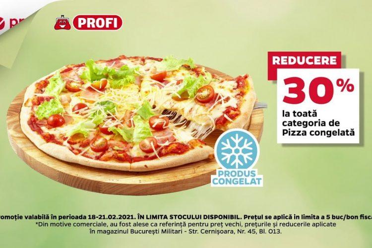 Profi - Reducere 30% la toata categoria de Pizza congelata - 18 februarie - 21 februarie