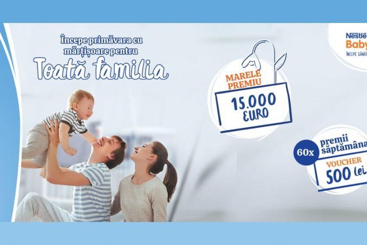 Nestlé Baby - Incepe primavara cu martisoare pentru toata familia!