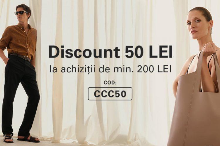 Voucher CCC - Discount 50 lei la achizitii de minim 200 lei
