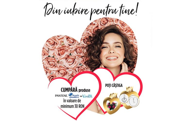Carrefour - Din iubire pentru tine - Castiga un buchet de flori Pink Floyd sau o bratara Pandora Moments!