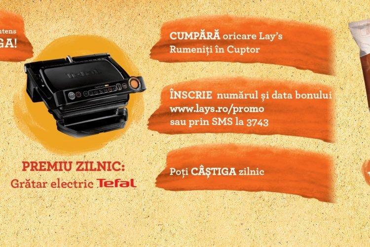 Carrefour - Spune DA gustului intens si poti castiga un gratar electric Tefal
