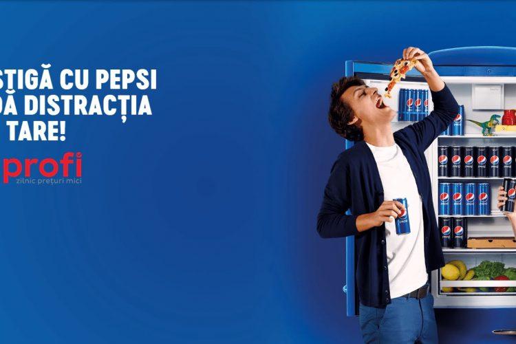 Profi - Castiga cu Pepsi si da distractia mai tare! Premii: Sistem Soundbar Samsung, boxe portabile JBL, iPod Touch