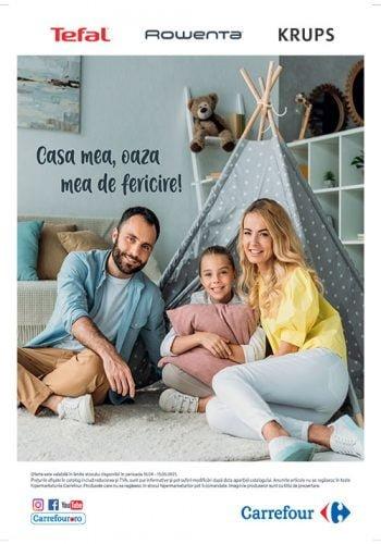 Catalog Carrefour 21 aprilie - 15 mai - Casa mea, oaza mea de fericire