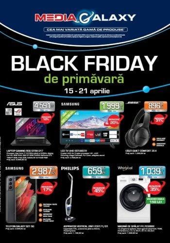 Catalog Media Galaxy 15 aprilie - 21 aprilie 2021 Black Friday de Primavara