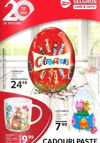 Catalog Selgros 16 aprilie - 1 mai - Cadouri Paste