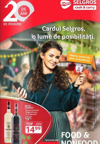 Catalog Selgros 16 aprilie - 29 aprilie - Magazine Mici