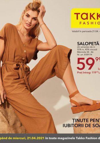 Catalog Takko Fashion 21 aprilie - 27 aprilie 2021