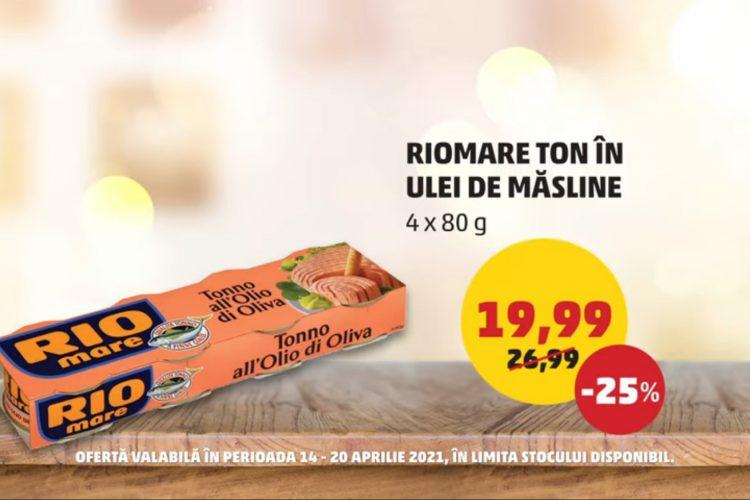 Oferta Penny - Ton in ulei de masline Rio Mare si banane - 14 aprilie - 20 aprilie 2021