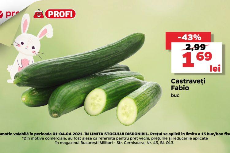 Oferta Profi - Castraveti Fabio - 1 aprilie - 4 aprilie