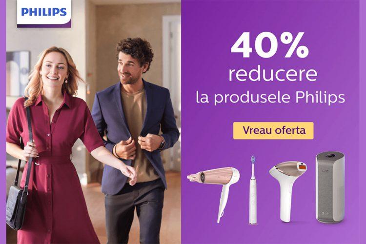 Voucher CCC - Reducere 40% la produsele Philips pentru membrii clubului CCC