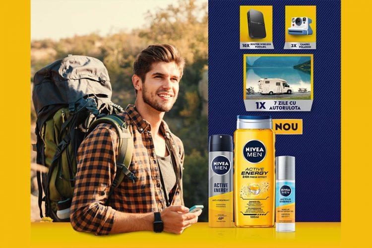 Carrefour - NIVEA MEN Fresh pentru activitatile tale - Castiga un sejur cu autorulota, o camera foto Polaroid sau un router wireless!