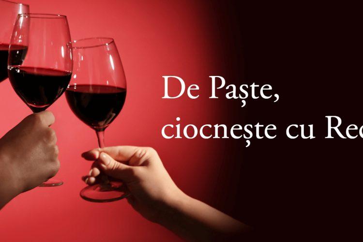 De Paste, ciocneste cu Recas! Castiga o cutie cu vin si cozonac, voucher de 1000 lei sau 25000 lei!