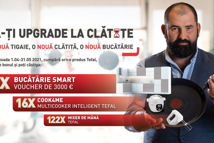 Fabrica de clatite - Castiga un mixer Tefal, un multicooker Cook4Me Tefal sau o bucatarie!