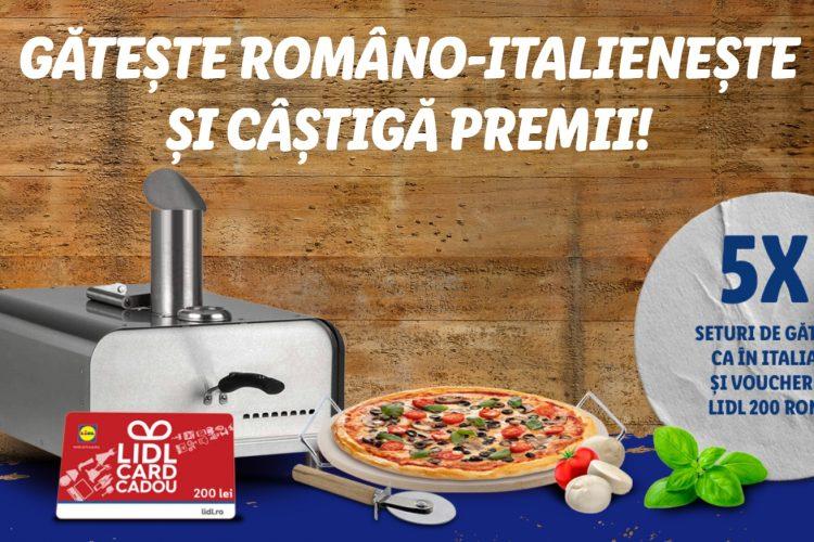 Lidl - Gateste Romano-Italieneste si castiga premii