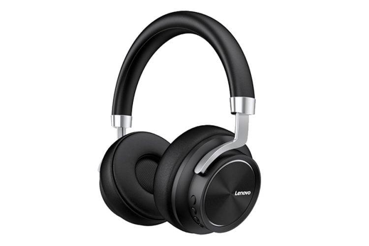 Casti Wireless LENOVO HD800 Premium Over Ear, Microfon, HD, Buton Control Volum, Negru