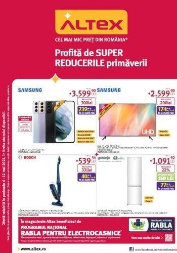 Catalog Altex 6 mai - 12 mai 2021 - Profita de SUPER REDUCERILE primaverii