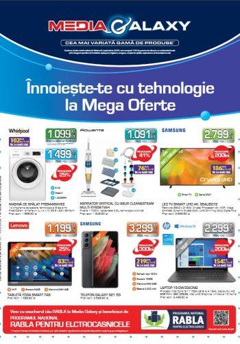Catalog Media Galaxy 13 mai - 19 mai 2021 - Innoieste-te cu tehnologie la Mega Oferte