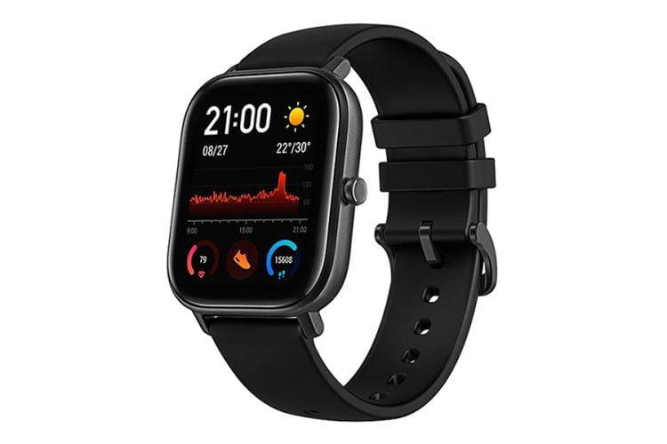 Ceas smartwatch XIAOMI Amazfit GTS Obsidian Black Negru