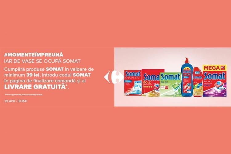 Cod reducere Carrefour - Livrare Gratuita Somat