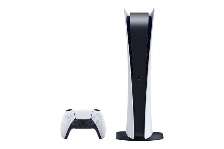 Consola Sony PlayStation 5, PS5 Digital Edition, 16GB RAM, 825 GB SSD, 100-240V, Alb