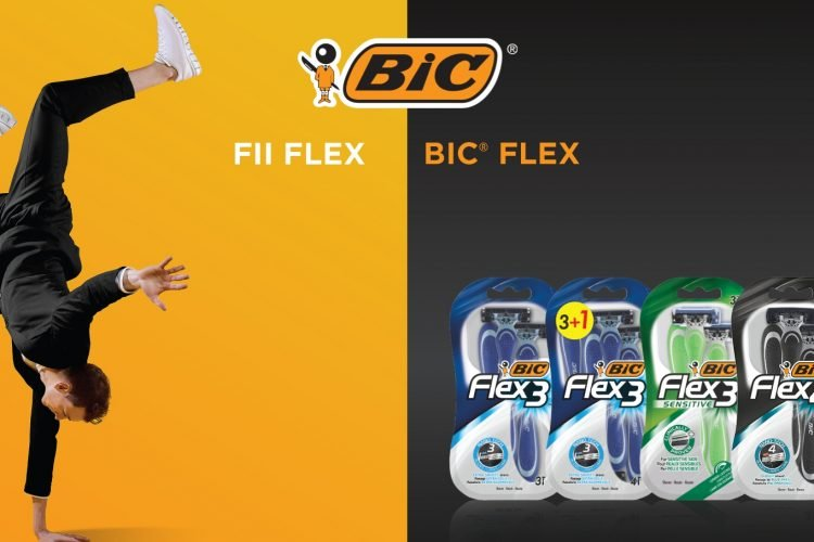 BIC FLEX 5 - Castiga un cardholder, un hub usb, casti, incarcator wireless, Playstation 4 SLIM sau un GoPro Hero 9!