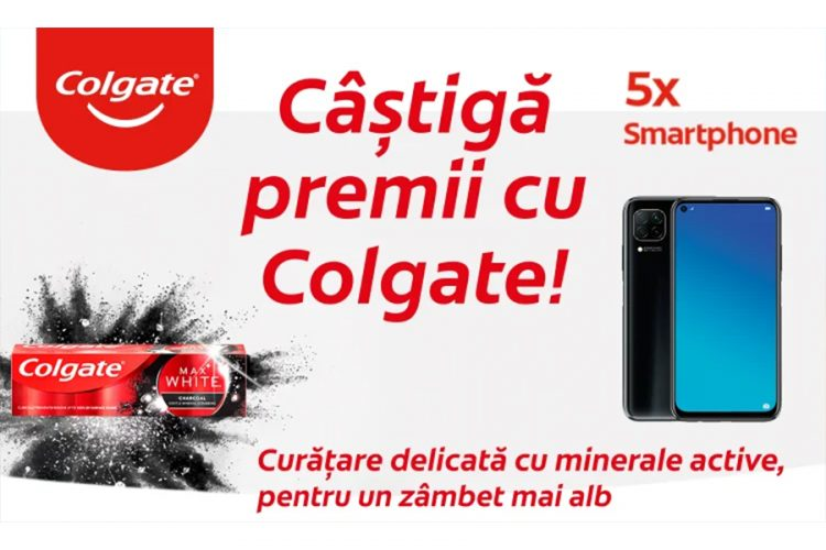Penny - Campanie cu premii Colgate & PENNY - Castiga un smartphone Huawei P40 Lite!