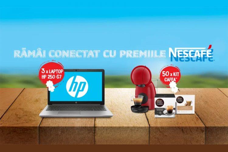 Penny - Ramai conectat cu premiile Nescafe! Castiga un kit cafea Nescafe sau un laptop HP!
